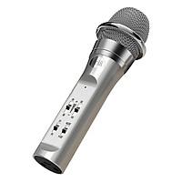 Micro Bluetooth Không Dây KTV Live Stream Cực Hot Hiện Nay PKCB S6 Bạc - Hàng Chính Hãng