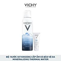 Bộ Sản Phẩm Nước Xịt Khoáng Cấp Ẩm Và Bảo Vệ Da Vichy Mineralizing Thermal Water