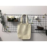Túi Vải Trơn Tote Canvas dùng vẽ, thêu, in, túi đựng Gady's Shop