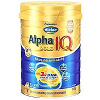 Sữa bột Dielac Alpha Gold IQ Step 4 - Hộp thiếc 900g (dành cho trẻ 2-6 tuổi)
