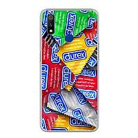 Ốp lưng cho Realme 3 Pro - 0217 DUREX - Silicone dẻo - Hàng Chính Hãng