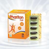 Thực phẩm bảo vệ sức khỏe PHARITON TVP - Bổ sung Vitamin, Khoáng chất thiết yếu cho cơ thể