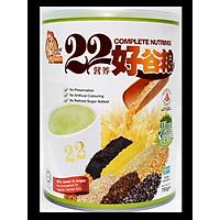 Hộp Bột ngũ cốc dinh dưỡng cao cấp 22 Complete Nutrimix - Wheat Grass (Mầm lúa mì) - 750g