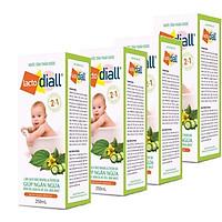 4 Hộp dung dịch tắm thảo dược Lacto Diall