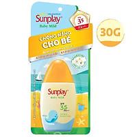 Sữa Chống Nắng Cho Bé Và Da Nhạy Cảm Sunplay Baby Mild SPF 35, PA++ (30g)