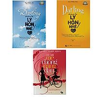 Bộ 3 cuốn sách Cuộc chiến mẹ chồng nàng dâu và Darling chúng ta ly hôn nhé tập 1+ 2