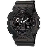 Đồng hồ nam dây nhựa Casio G-Shock chính hãng GA-100-1A1DR