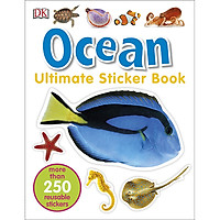 DK Ultimate Sticker Book Ocean (More Than 250 Reusable Stickers)