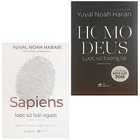 Combo 2 cuốn lược sử hay nhất: Sapiens - Lược Sử Loài Người + Homo Deus - Lược Sử Tương Lai