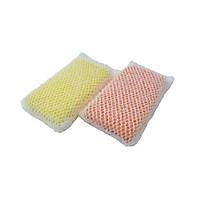 Miếng mút rửa bát đĩa, bọt biển bọc lưới đánh bật mọi vết bẩn nhanh chóng ( Giao màu ngẫu nhiên )- Hàng nội địa Nhật Bản.