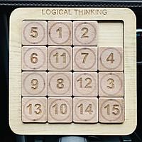 Đồ Chơi Gỗ Trò Chơi Luyện Tư Duy Logic Và Khả Năng Tập Trung Cho Trẻ Em Từ 4 Đến 6 Tuổi Logical Thinking Phiên Bản Mới