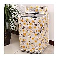 Bọc máy giặt siêu dày dặn chống thấm nước loại cửa trên ( cửa đứng) Shop giao mầu ngẫu nhiên
