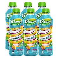 Lốc 06 chai Yomost Sữa Trái Cây Chanh Dây Bạc Hà
