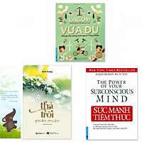 Combo 3 quyển: Sức Mạnh Tiềm Thức + Lagom - Vừa Đủ - Đẳng Cấp Sống Của Người Thụy Điển + Thả Trôi Phiền Muộn (Tặng kèm bookmark danh ngôn hình voi)