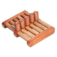 Bàn lăn gỗ massage chân 5x6