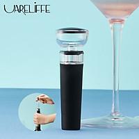 Uareliffe Nút Chai hút chân không ,Nút bịt kín Giữ lại độ tươi của rượu , nút chặn không khí có thể tái sử dụng