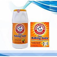 COMBO 2 HỘP BAKING SODA RỬA RAU CỦA QUẢ VÀ TẨY RỬA NHÀ CỬA ARM & HAMMER NHẬP KHẨU 100% TỪ MỸ,AN TOÀN TUYỆT ĐỐI,DỄ DÀNG SỬ DỤNG