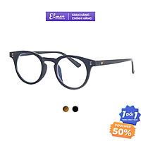 Gọng kính cận mắt mèo kiểu dáng dày cá tính Elmee chất liệu nhựa cao cấp phù hợp cho cả nam và nữ E2129