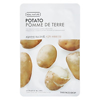 Bộ 5 Miếng Mặt Nạ The Face Shop Real Nature Potato Face Mask 20g