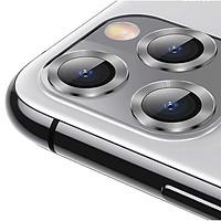 Bộ ốp viền kim loại tích hợp cường lực chống trầy Camera cho iPhone 11 Pro / iPhone 11 Pro Max hiệu Baseus Alloy Protection Ring Lens Film (độ cứng 9H, chống trầy, chống chụi & vân tay, bảo vệ toàn diện, mỏng 0.4mm) - Hàng nhập khẩu