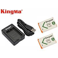 Combo 2 pin 1 sạc đôi Kingma for Sony NP-BX1 - Hàng chính hãng