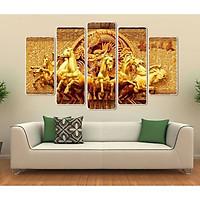 Tranh Ngựa Treo Tường |Mã Đáo Thành Công |Mẫu 1