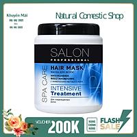 Kem ủ Salon Professional phục hồi chuyên sâu cho mái tóc hư tổn do hóa chất, nhiệt 1000ml