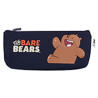 Hộp Bút Vải Canvas We Bare Bears - Magic Channel - Mẫu 2
