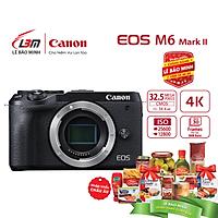 Máy ảnh Canon EOS M6 Mark II Body - Hàng Chính Hãng Lê Bảo Minh