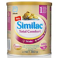 Combo 4 Lon Sữa Bột Similac Total Comfort 1 360g ( cho trẻ 0-12 tháng) - dành cho trẻ rối loạn tiêu hóa, táo bón, trào ngược