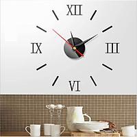 Đồng hồ dán tường DH002 3D hiện đại