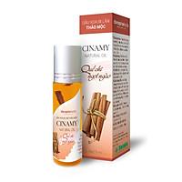 Dầu xoa bi lăn CINAMY - Giữ ấm cơ thể, massage thư giãn, dịu cơn nhức mỏi, xoa dịu vết côn trùng đốt
