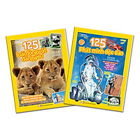 Combo 2 Cuốn 125 Phát Minh Độc Đáo + 125 Loài Động Vật Đáng Yêu: Sách Dành Cho Trẻ Từ 6 Tuổi