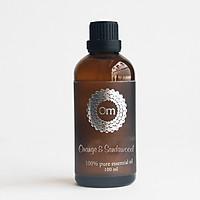 Tinh dầu Cam Ngọt & Đàn Hương 100ml nguyên chất OmFountain