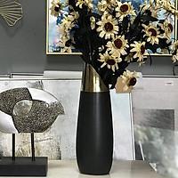 Bình hoa sứ đen