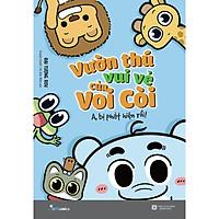 Sách - Vườn thú vui vẻ của Voi Còi – A, bị phát hiện rồi! (tặng kèm bookmark)
