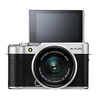 Máy ảnh Fujifilm X-A20 + Kit XC15-45MM F3.5-5.6 OIS II (Bạc) - Chính hãng