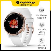 Đồng hồ thông minh Garmin Venu 2s dây silicone - Hàng chính hãng