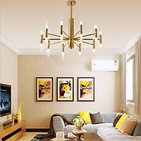 Đèn chùm, đèn trang trí phòng khách phong cách châu âu sang trọng
