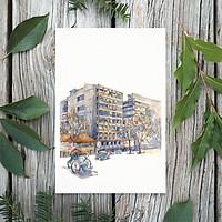 Tranh Poster Sài Gòn xưa | Đường phố Sài Gòn | Soyn SGX013
