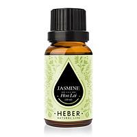 Tinh Dầu Hoa Lài Jasmine Essential Oil Heber | 100% Thiên Nhiên Nguyên Chất Cao Cấp | Nhập Khẩu Từ Ấn Độ | Kiểm Nghiệm Quatest 3 | Xông Thơm Phòng | Hương Dịu Nhẹ