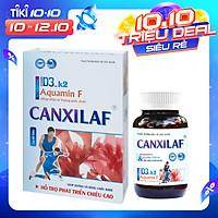Viên uống hỗ trợ tăng chiều cao từ Tảo Biển Nhật Bản, bổ sung Canxi và Vitamin D3 giảm nguy cơ loãng xương Canxi Laf (60 viên/hộp)