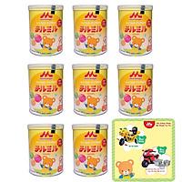 Combo 8 hộp sữa morinaga Hagukumi số 2 850g Tặng bộ nồi inox 3 đáy