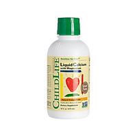 Thực phẩm bổ sung canxi Usa Childlife Liquid Calcium With Magnesium 474Ml