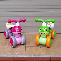 Xe chòi chân thăng bằng cho bé mẫu mới 2019 (xe bơi cân bằng hàng cao cấp)- màu cho bé gái - chọn màu ngẫu nhiên