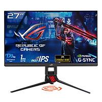 Màn hình chuyên game ROG Strix XG279Q HDR 27 inch WQHD (2560 x 1440), công nghệ Fast IPS, có thể ép xung lên tới 170Hz (Trên 144Hz), 1ms (GTG), ELMB SYNC, Tương thích G-SYNC, DisplayHDR  400 - Hàng Chính Hãng