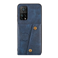 Bao da điện thoại dạng ví 2 ngăn để thẻ dành cho Xiaomi POCO X3 NFC Mi 10T Pro 10T Lite
