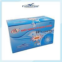 [HỘP - FAMAPRO 4U] - Khẩu trang y tế 4 lớp kháng khuẩn Famapro 4U (50 cái/ hộp ) - 1 HỘP
