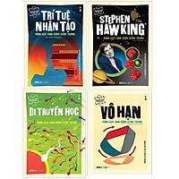 Combo Dẫn Nhập Ngắn Về Khoa Học: Trí Tuệ Nhân Tạo + Stephen Hawking + Di Truyền Học + Vô Hạn: Minh Họa Sinh Động Bằng Tranh