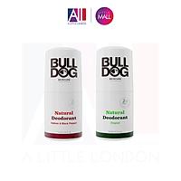 Lăn khử mùi dành cho nam Bulldog Natural Deodorant Original / Vetiver & Black Pepper 75ml